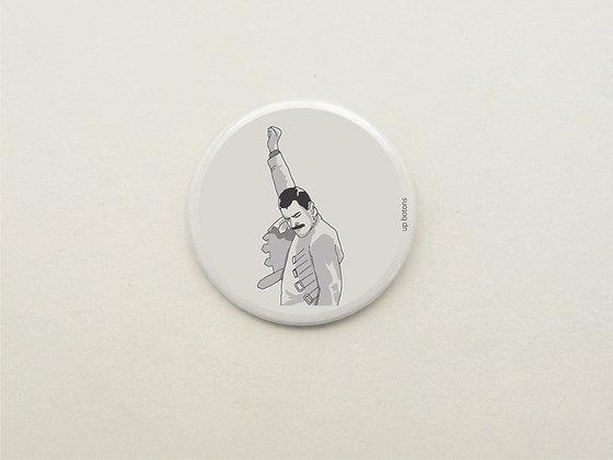 Boton Freddie Mercury