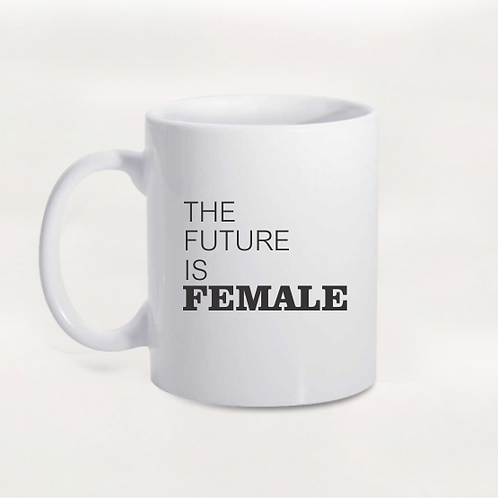 Caneca Girl Power - The Future Is Female