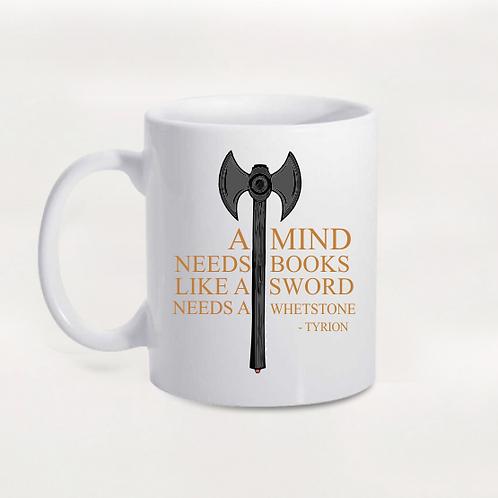 Caneca Game Of Thrones  - A Mind Needs Books...