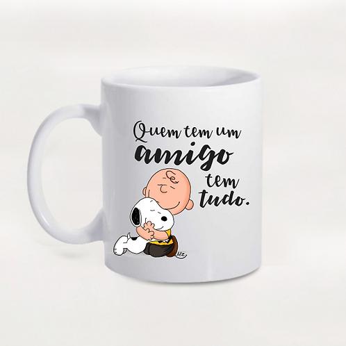 Caneca Snoopy e Charlie Brown