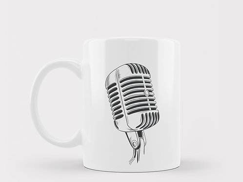 Caneca Microfone