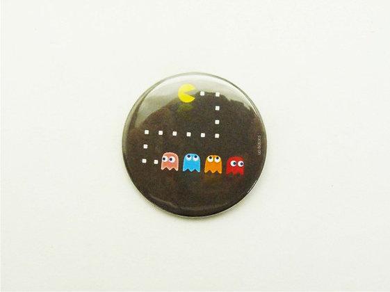 Boton Pac Man e Fantasminhas