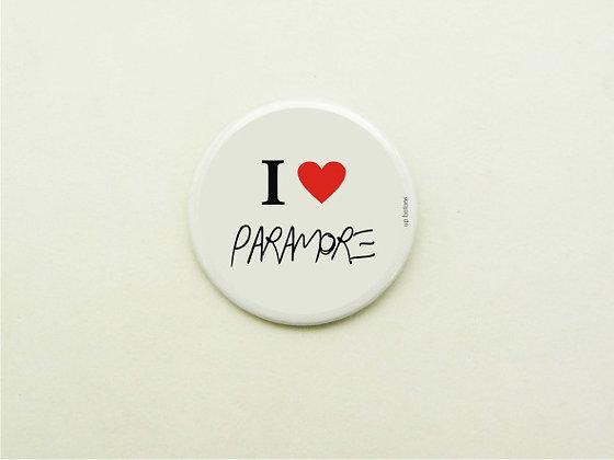 Boton I Love Paramore