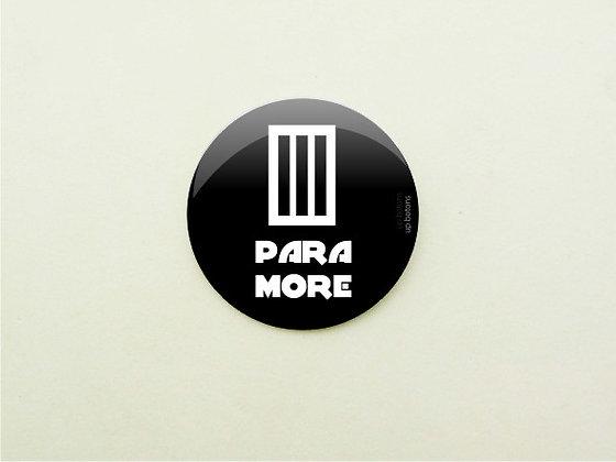 Boton Paramore Black