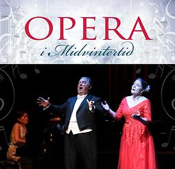 Affisch A3 Opera i Midvintertid 2019 Vic