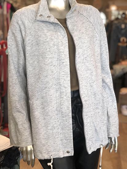 Long Zipper Cotton Jacket