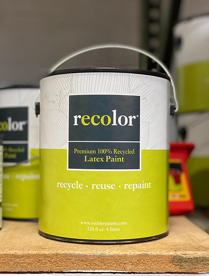 ReColor Paints Extra White Flat Finish 1 Gallon