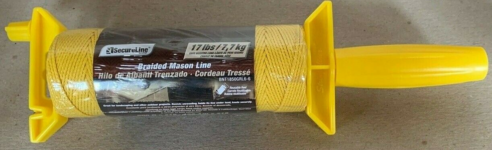 Secure Line Braided Mason Line 500ft On Spindle