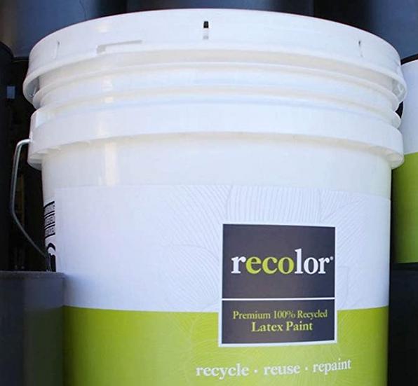 ReColor Paints Semi Gloss Trim White 5 Gallon