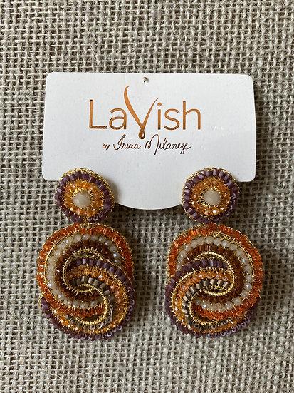 Multi Lily Earring