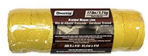 Secure Line Braided Mason Line 17lbs 300 feet