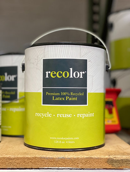 ReColor Paints Semi Gloss Trim White 1 Gallon