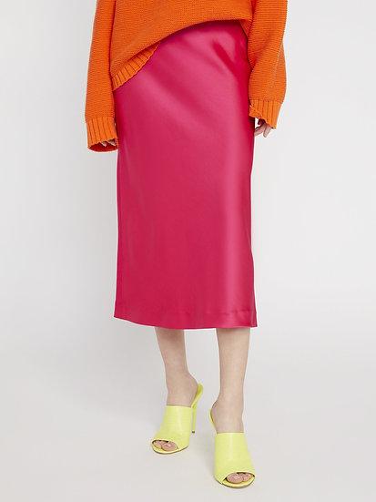 Maeve Mid Length Slip Skirt