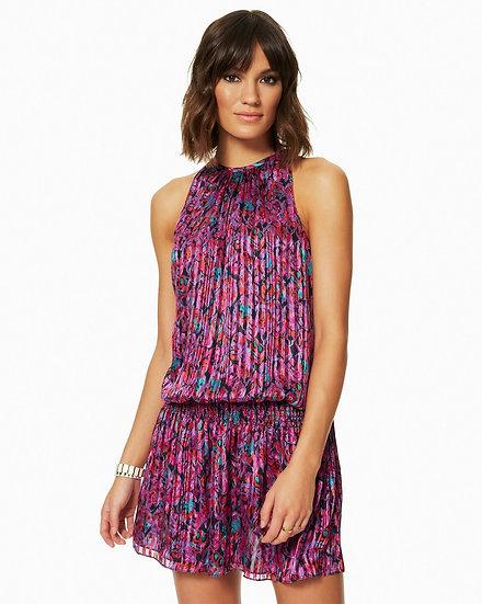 Printed Paris Dress