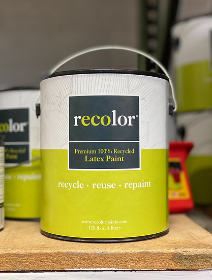 ReColor Paints Ceiling White Flat Finish 1 Gallon