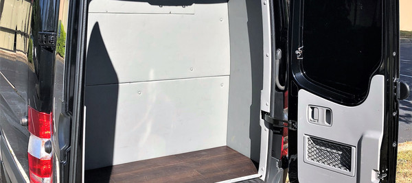 Sprinter Luggage Compartment