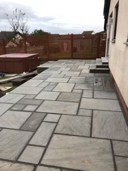 Patio Laid & Steps