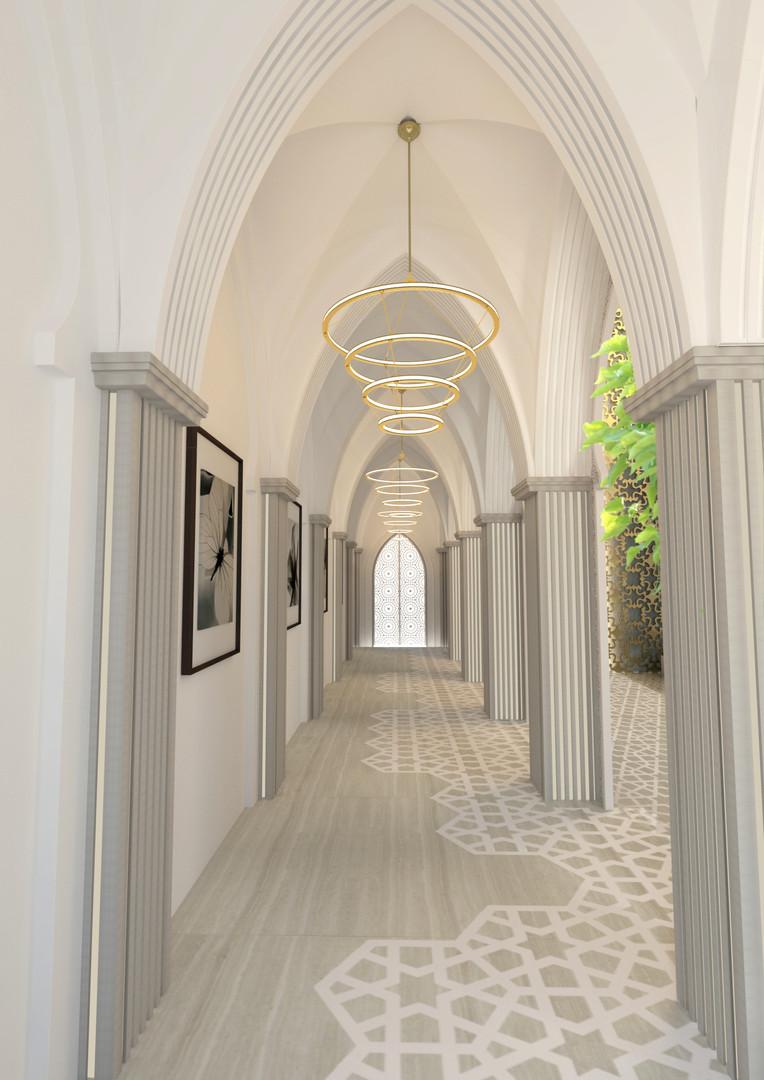 CORRIDOR Al Messila Palace