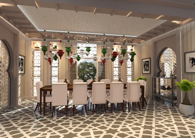 Family Dining, Messila Palace