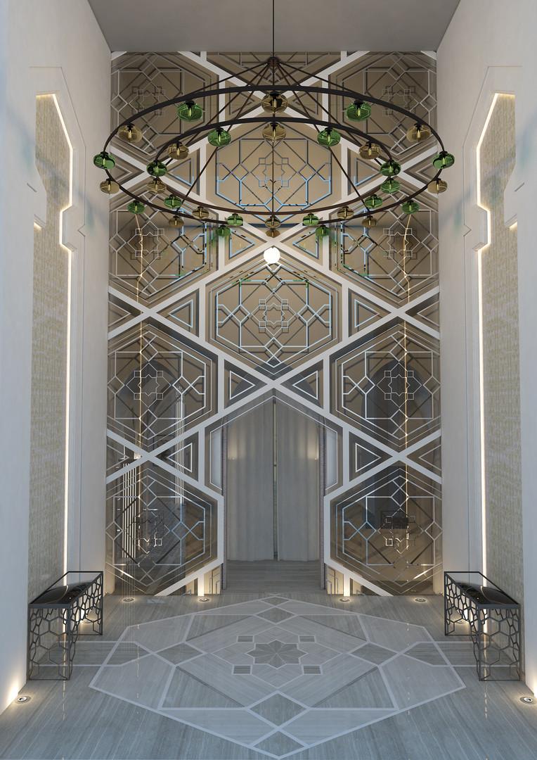 ENTRANCE HALL Al Messila Palace