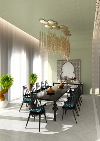 Breakfast Room Al Messila Palace