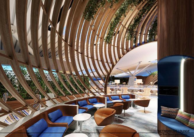 Cocoon Pod Lounge