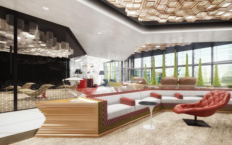 The Majlis- West Lounge Doha Airport