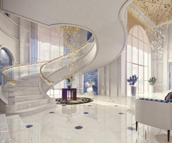 Beachvilla Staircase