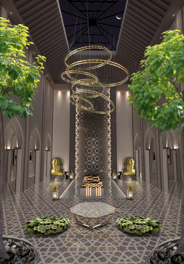 Moroccan Riad Al Messila Palace