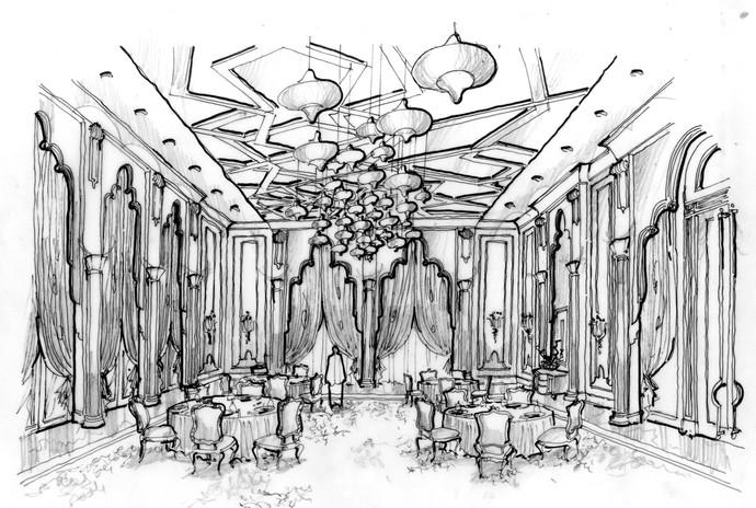 VIP Palace Dining Hall