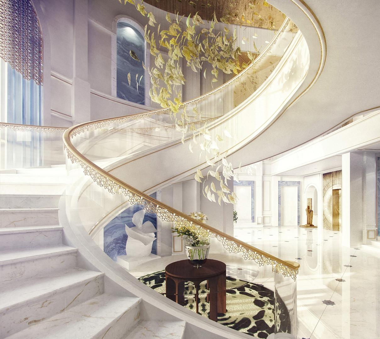 Beach Villa Staircase