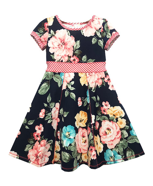 Fit and Flare Floral Dress - RX3715XK