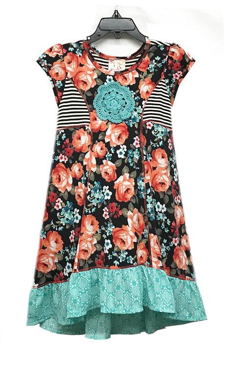 SK2240 A-Line Flounce Dress