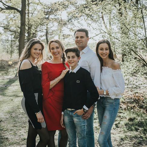Familie fotoshoot Sonse Heide
