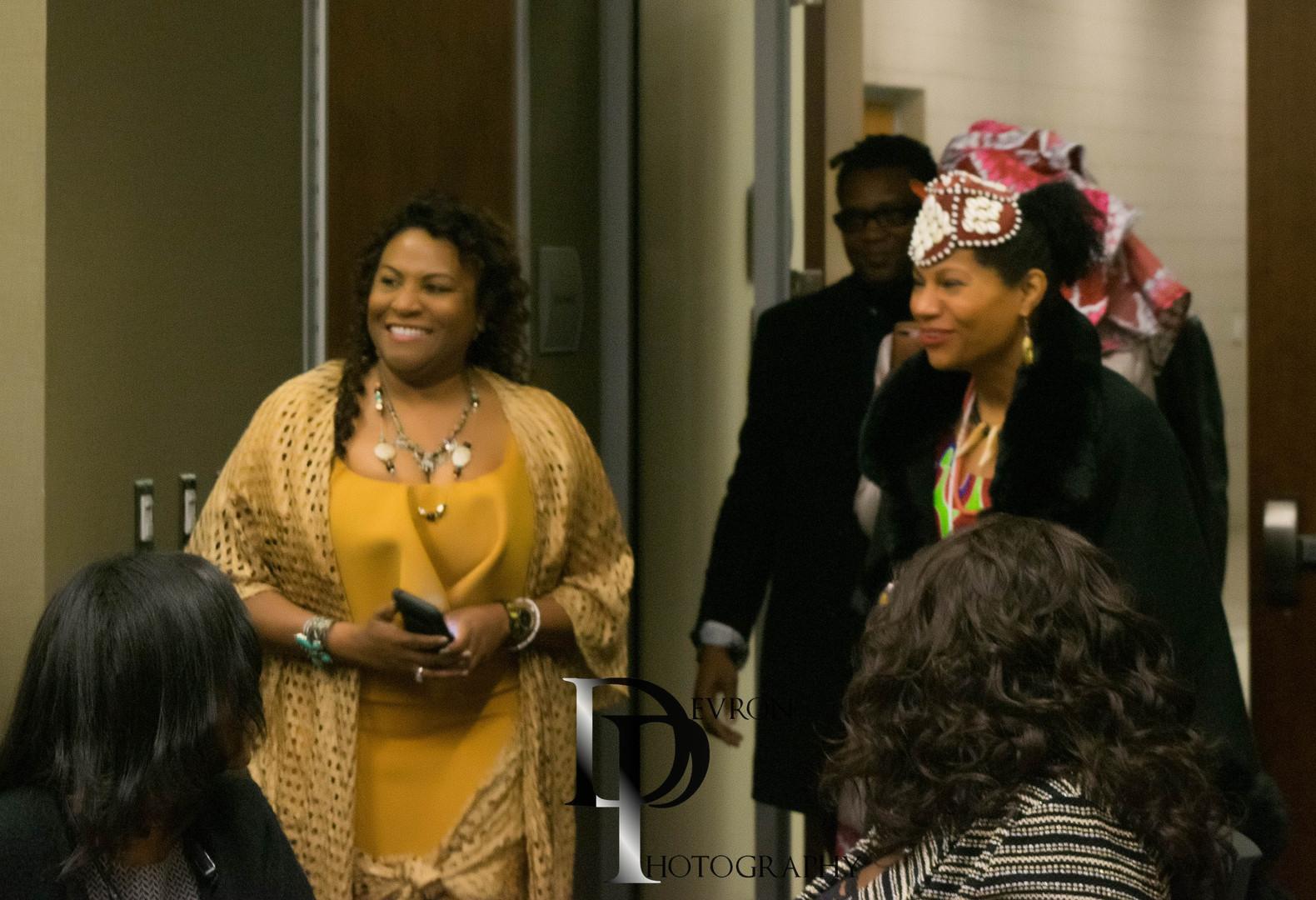 Dr. Cordel Parris and Queen Diambi Kabat