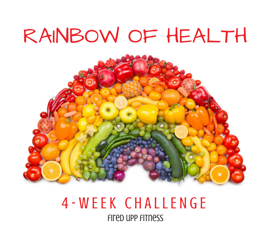 Rainbow of Health Challenge