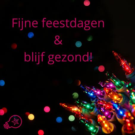 Kerstwens en sluiting tijdens feestdagen