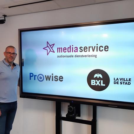 Media Service België wint aanbesteding  Brussel voor 1500 interactieve touchscreens