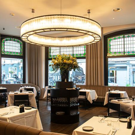 Nieuwe duurzame en sfeervolle verlichting voor Restaurant Harry's in Hotel Beaumont