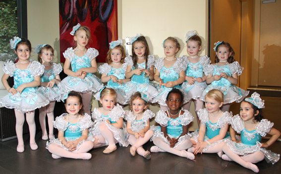 Mini Ballerinas Group