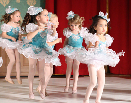 Beautiful Little Ballerinas