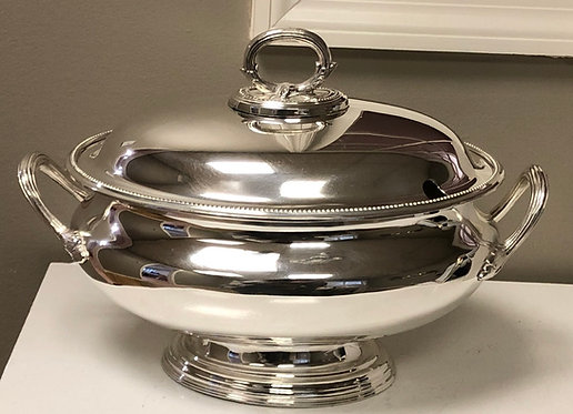 HÔTEL Silver - Oval Tureen - Hotel Silver