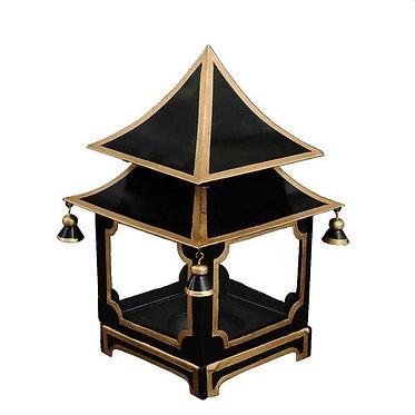 Black Gold Candle Pagoda (2 Sizes)