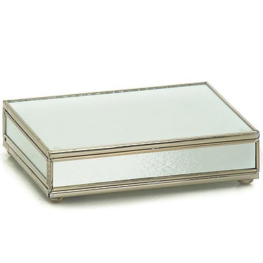 New Mirror Playing Card Storage Box With Two Decks of