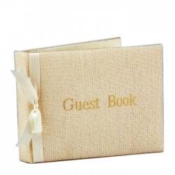 Jan Sevadjian Custom Monogrammed Guest Book