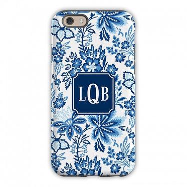 Boatman Geller Classic Floral Blue Phone Case