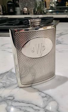 Engraved Monogrammed Embossed Flask
