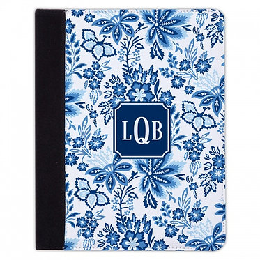 Boatman Geller Classic Floral Blue iPad Mini or iPad