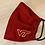 Thumbnail: Virginia Tech Fabric Face Mask - Multiple Sizes