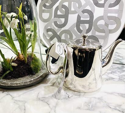 "HÔTEL Silver 4.5"" Teapot - Hotel Silver"